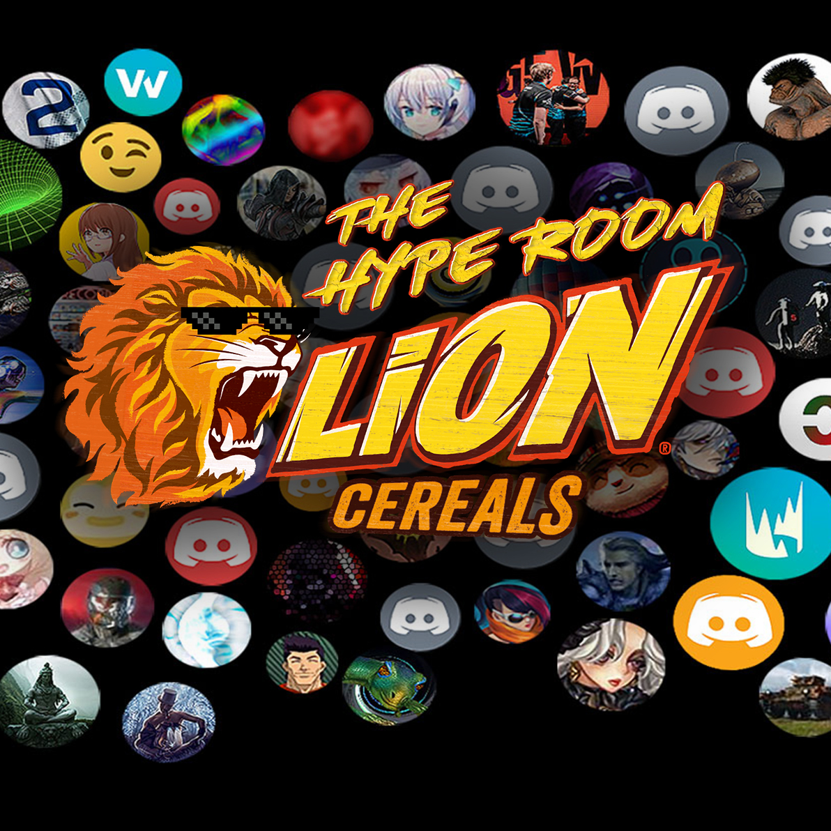LION Cereals x LEC The Hype ROom